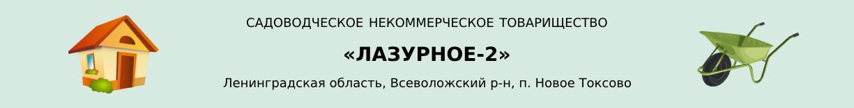СНТ «Лазурное-2»